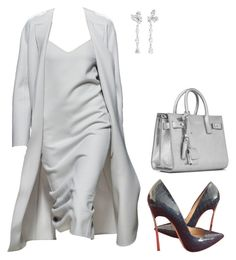 """""""Untitled #5697"""" by teastylef ❤ liked on Polyvore featuring Casadei, Anyallerie and Yves Saint Laurent"""