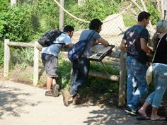 English Language Center at Rochester Institute of Technology takes a trip to Seneca Park Zoo! http://studyusa.com/