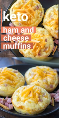 Try these Keto Ham Egg and Cheese Muffins for the ultimate low carb grab and go breakfast! At only one net carb each these muffins are perfect for keto meal prep! Eggs Keto Ham and Cheese Muffins Ketogenic Diet Meal Plan, Keto Meal Plan, Ketogenic Recipes, Keto Recipes, Soup Recipes, Seafood Recipes, Breakfast Hotel, Low Carb Breakfast, Breakfast Recipes