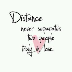Funny, sad and cute Long Distance Relationship Quotes for him and her with beautiful images. Make your partner happy from a distance with these LDR quotes. Cute Love Quotes, Love Quotes For Him, Quotes To Live By, Distance Love Quotes, Long Distance Relationship Quotes, Distance Relationships, Love Conquers All, Les Sentiments, Be Yourself Quotes