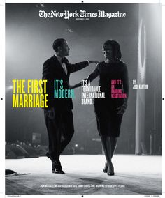 The Obama marriage; HE STILL CAN MAKE HER SMILE ... so important in a relationship! New York Times magazine cover story