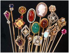 Vintage hatpins