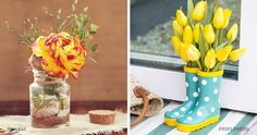 23wonderful ways todecorate your home with flowers