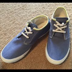 Men's Sneaker Timberland, canvas, light blue, pre-owned in excellent condition Timberland Shoes Flats & Loafers