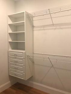 Decor, Home, Closet, White, Shelving