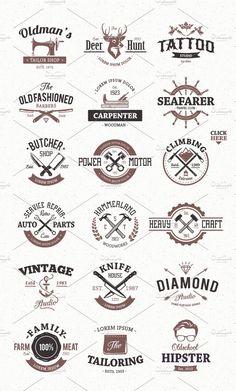 Free Food Logo Maker Luxurious Restaurant Logo Design Create Your Own Restaurant Logo Design Ideas Restaurant Logo, Restaurant Design, Vintage Logo Design, Vintage Logos, Retro Logos, Vintage Designs, Web Design, Graphic Design, Affinity Designer