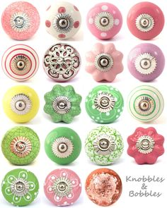 Hand Painted Ceramic Door Knob Knobs Drawer Pulls Kitchen