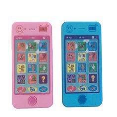 Terbaru Versi Rusia Bahasa Bayi Mainan Telepon 4G Anak anak Pendidikan Simulasi Musik Ponsel Ponsel 1706
