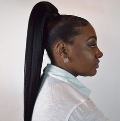awesome African american ponytail hairstyles