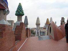 Palau Guell, Barcelona, Spain - Chimney Group | Flickr - Photo Sharing!