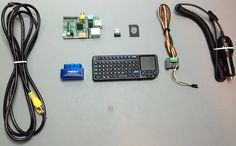 OBD-Pi: Raspberry Pi Displaying Car Diagnostics (OBD-II) Data On An Aftermarket Head Unit