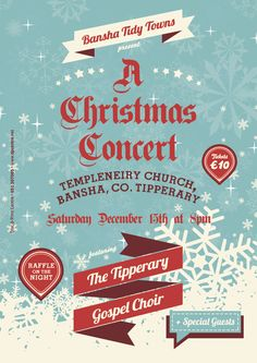 Tickets for Bansha Tidy Towns 'A Christmas Concert'