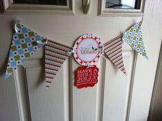 Mixed and matched different pennants from other DIY freebie banners to make one that suited our family's style.