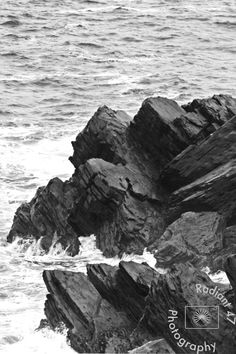 Coastal rock formation photograph print perfect for office and living room decoration. Ocean Photography, Abstract Photography, Color Photography, Travel Photography, Wedding Photography, Cool Rocks, Minimalist Photography, Ansel Adams, Rock Formations