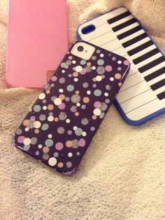 Because today I wanted to make a Nail Polished purple iPhone case!