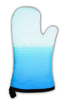 Gear New Oven Mitt, Abstract Bright Painted Blue Ocean, G...
