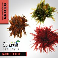 Be the first to opt for jewellery made up from saddle feathers among your friends. #saddle #feathers #jewellery #SchumanFeathers