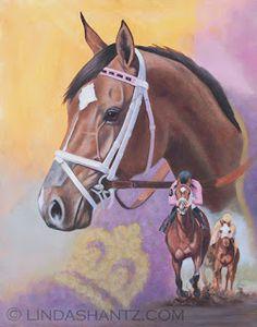 Lexie Lou- Linda Shantz Equine and Animal Art