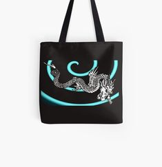 Promote | Redbubble Dragon, Reusable Tote Bags, Collection, Bags, Dragons