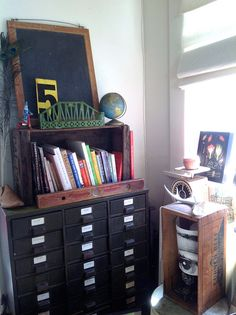 Studio space at Maya's mom's place  Image 3 by mayalu, via Flickr
