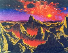 martinlkennedy:  Another beauty from my friend Steve R Dodd. 'Starmaker' (early 1980s). Previously unpublished, direct from Steve's archives.