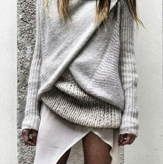Yummy cozy sweater...want!
