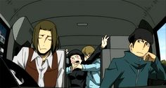 Durarara!! walker and erika - Google Search