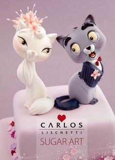 Cats in love / Gatitos enamorados
