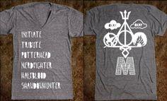 Divergent TFIOS Percy Jackson Harry Potter Mortal Instruments Hunger Games Multi-Fandom Shirt, book lovers shirt