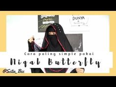 Tutorial Niqab Butterfly 🍁Niqab Tutorial🍁 - YouTube