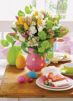 Easter Decor...too cute.