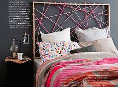 cabecera de cama genial!