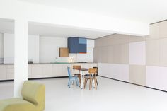 """thisispaper: """"A joyous living space designed by Dries Otten """""""