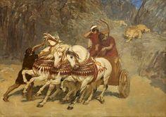 """""""Assyrian Lion Hunt"""", Briton Riviere"""