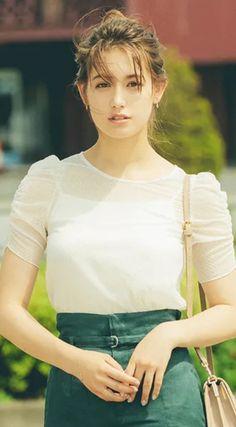 Japanese Gf, Cute Asian Girls, Beautiful Women, Womens Fashion, Beauty, Oriental, Pretty Girls, Portraits, Sweetie Belle