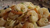 Garlic Shrimp Linguine - by STACEYO via AllRecipes.com.    Video for this recipe is here: http://allrecipes.com/video/3099/garlic-shrimp-linguine/detail.aspx