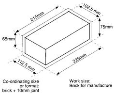 Brick Dimensions Uk Google Search Building Projects