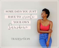 Each Trades of Hope product empowers women out of poverty. Look your best, while making a difference.