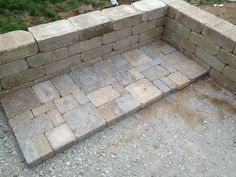 Project: Backyard Paver Patio. I like these colors. Very natural looking