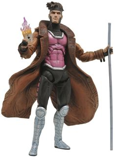 Diamond Select Toys Marvel Select Gambit Action Figure $22.99