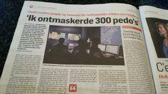 """Sweetie"" ontmaskerde vele pedo's. Algemeen Dagblad 27 januari 2014"