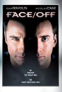 John Travolta at his best.  Better than Grease or Sat Night Fever any day!  I don't like Nicolas Cage.  He looks sad all the time!    Director : John Woo  Starring : John Travolta, Nicolas Cage