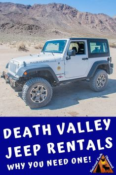 Thinking about a Death Valley Jeep Rental.  Here is everything you need to know about getting a Farabee's Jeep Rental for exploring Death Valley.  #deathvalley #califorina #deathvalleynps  #findyourpark #nationalparks #nationalpark #nationalparkobsessed