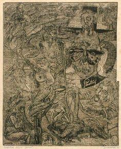 Josef Váchal Ex Libris, City Photo, Drawings, Artist, Artwork, Prints, Image, Graphic Art, Sculpture