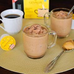 Better than a Frappaccino! Homemade Frozen Peanut Butter Mocha's!