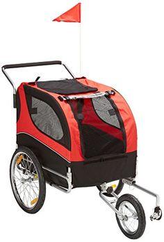 MDOG2 MK0291 Comfy Pet Bike Trailer/Jogging Stroller, Red/Black MDOG2 http://www.amazon.com/dp/B00IRR5K1W/ref=cm_sw_r_pi_dp_IEF9ub1H96T0P