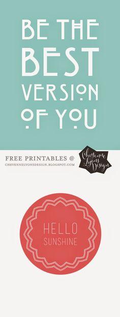 FREE PRINTABLES ..: cheyenne lyons design :..