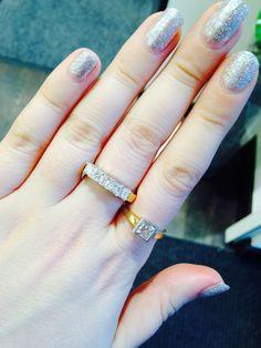'Princess Cut Diamond Ring'