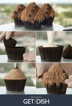 Now these are cupcakes #Chewbacca would love! #StarWars #Disney #GetTheDish