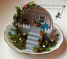 Porch Swing Creations: Front Porch in a Tea Cup